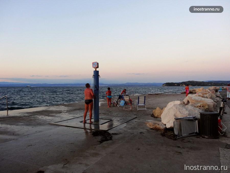 Адриатическое море в Словении