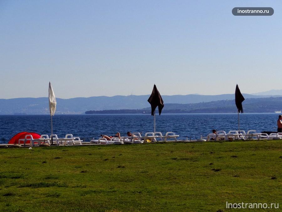 курорты и пляжи Словении