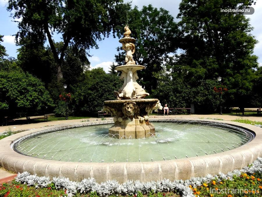 фонтан теплице
