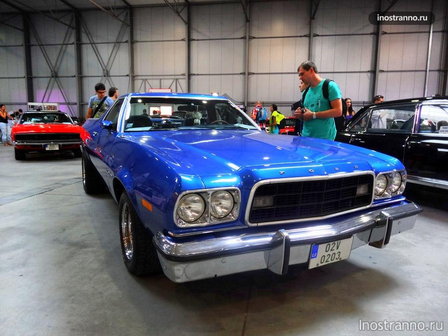 Ford Ranchero Squire 1973