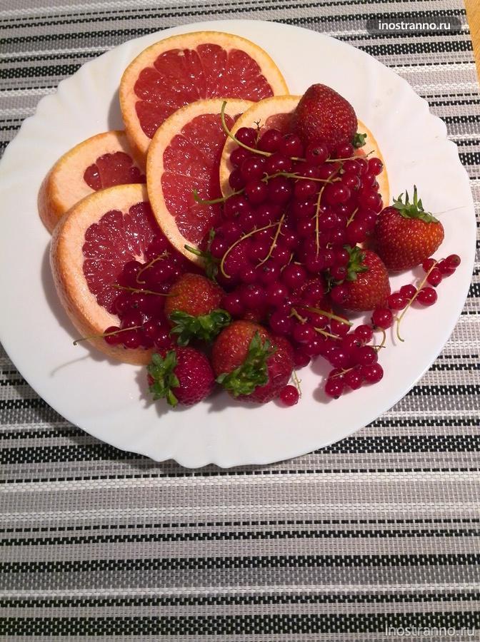 чешские фрукты