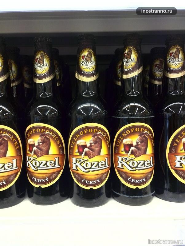 чешское пиво козел