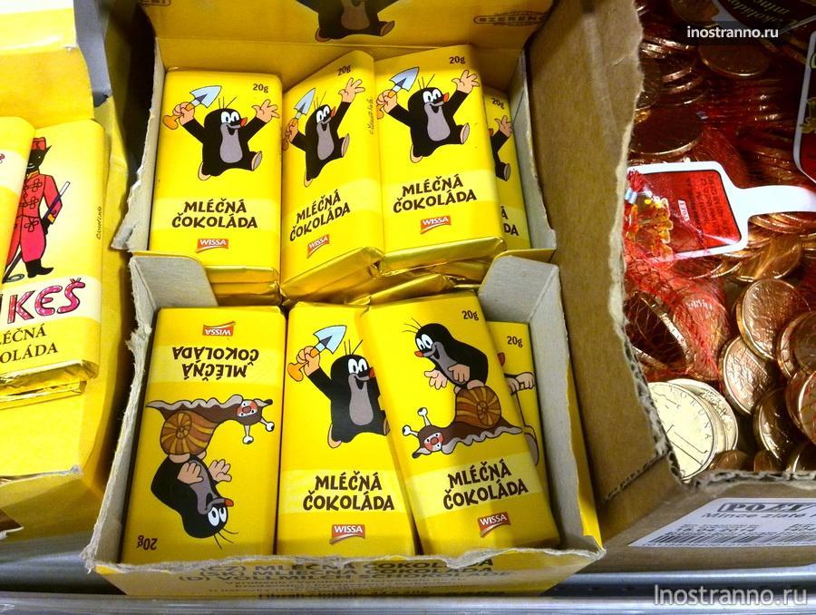 чешский шоколад