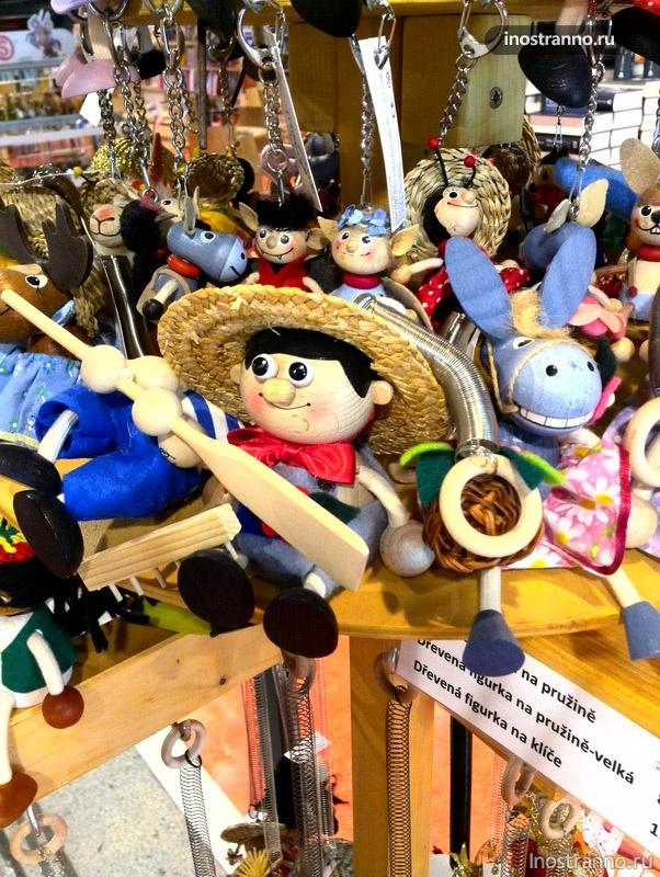 Куклы-марионетки из чехии