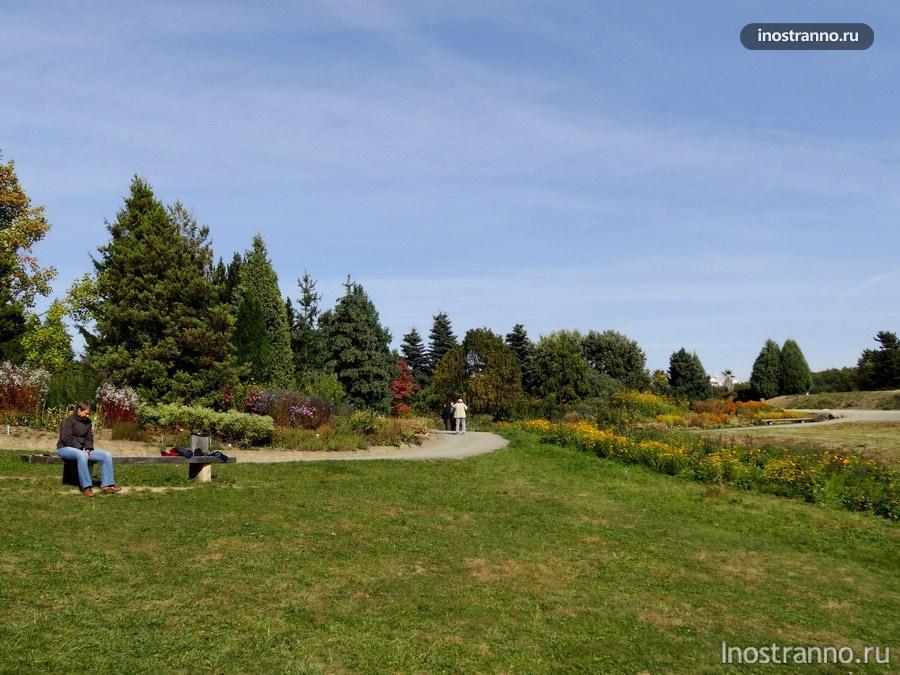 ботанический сад прага