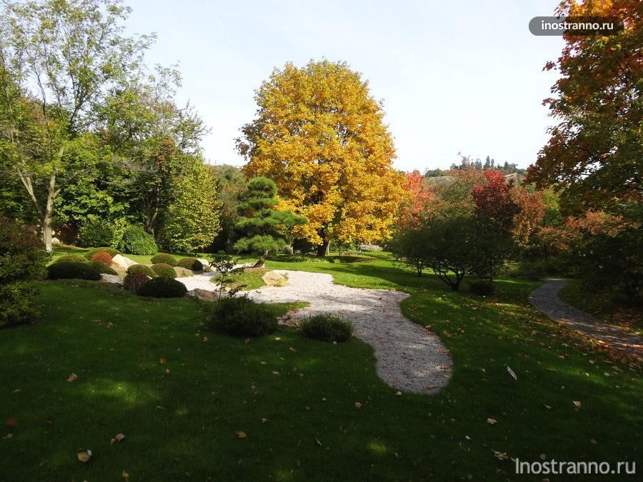 ботанический сад прага фото