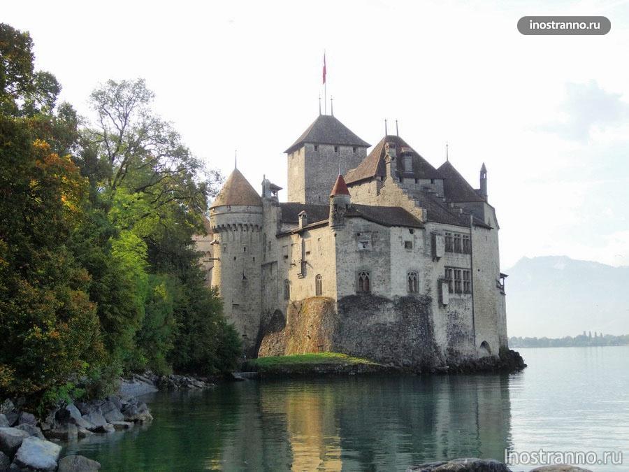 шильонский замок в швейцарии
