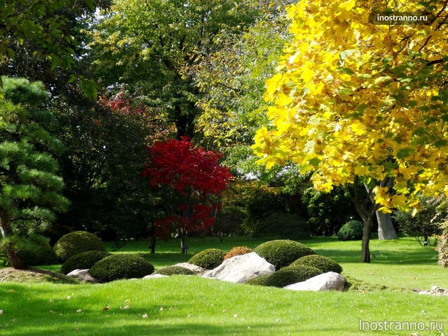 японский сад прага