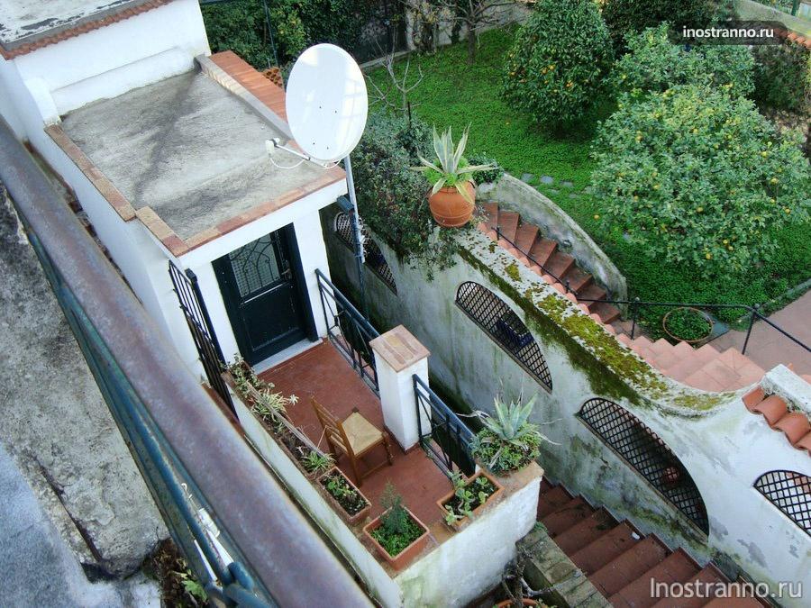 фото отель на острове Капри Италия