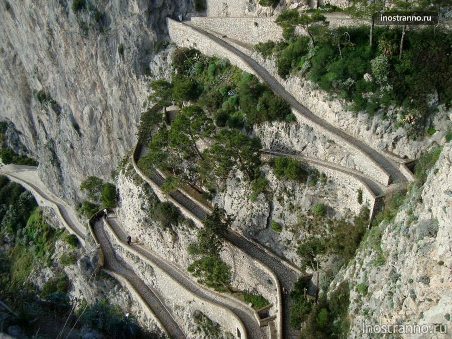 скалы на Капри