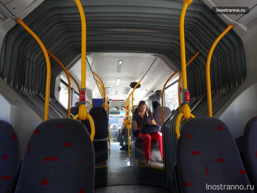 автобусы в Праге
