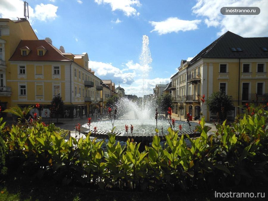 фонтан франтишковы лазне