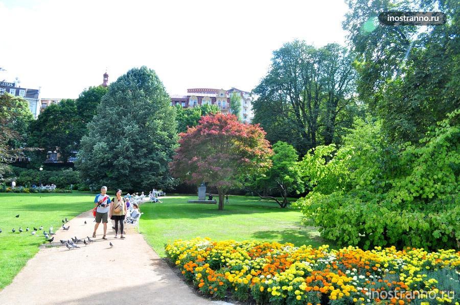 парки в карловых варах