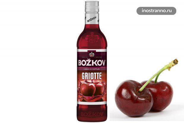 Чешский вишневый ликер Гриотка