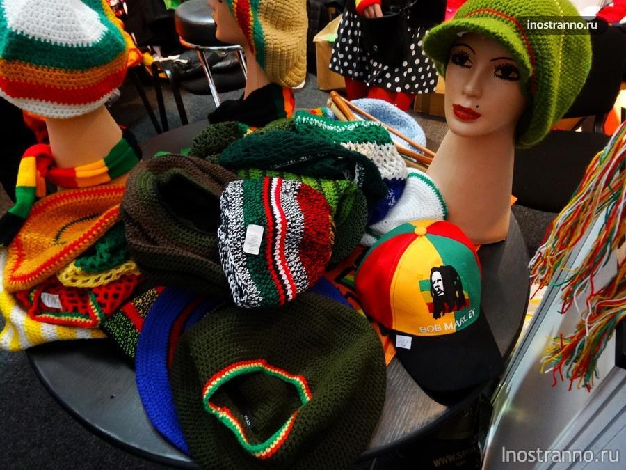 Расташоп: Растаманские шапки