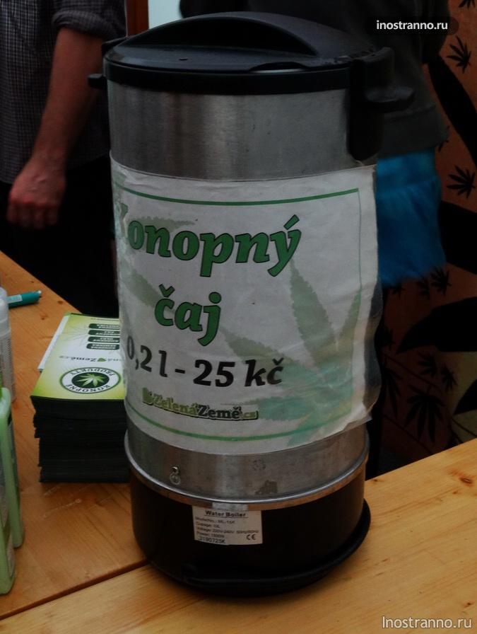 чай из конопли
