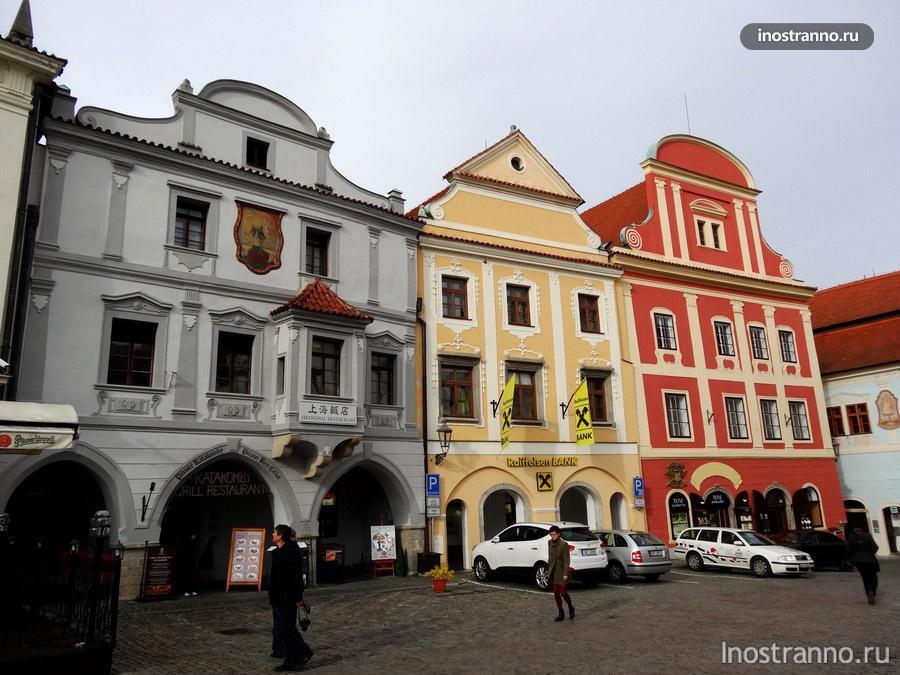 Главная площадь Крумлова