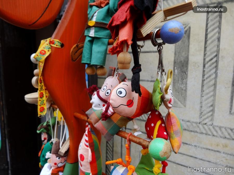 Игрушки в Чешском Крумлове