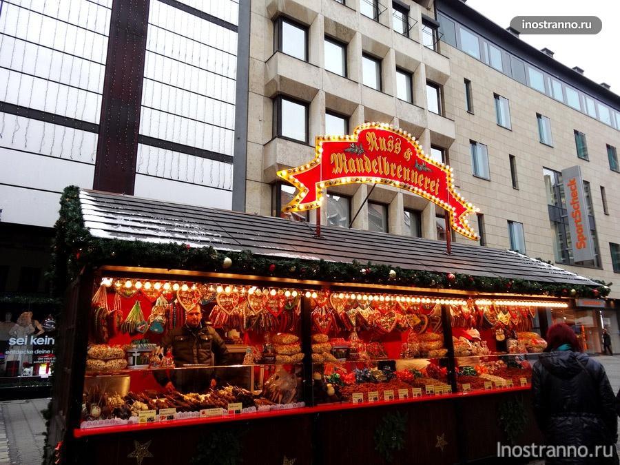 пряники на рынке в нюрнберге
