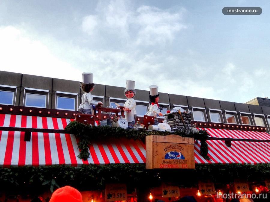 палатка на рынке в нюрнберге