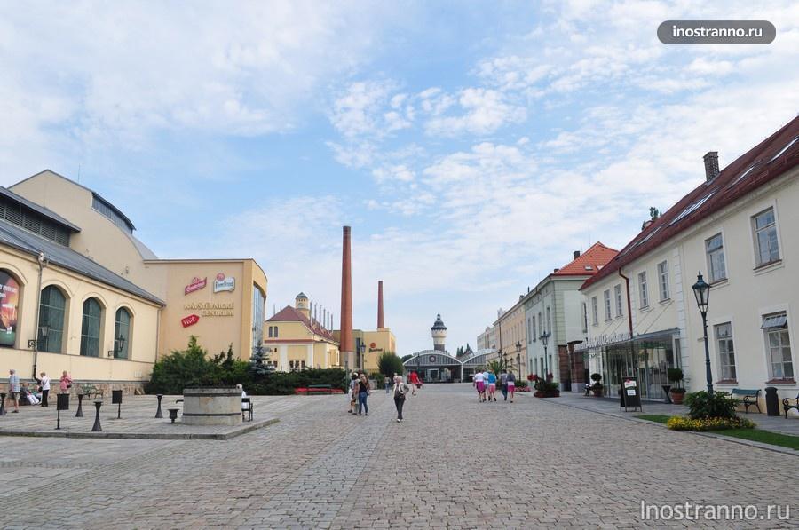 Пивоваренный завод Pilsner Urquell - Пльзень