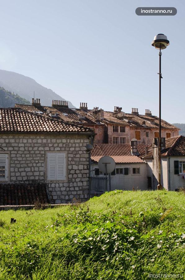 Стены и дома Котора