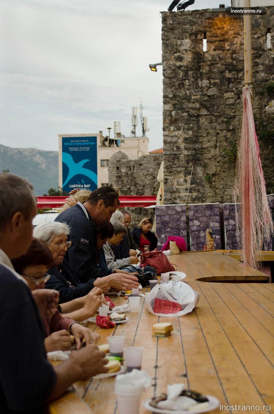 День шируна Будва Черногория