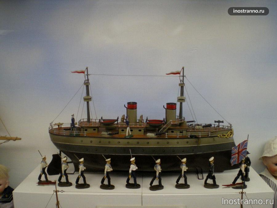 Модель - Музей игрушек в Праге