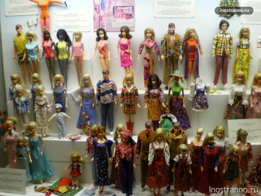 Музей кукол Барби Прага