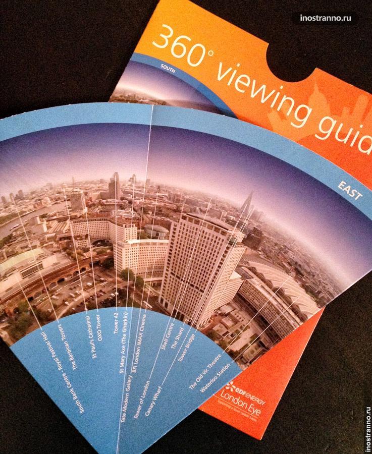 360-градусный обзор Лондона