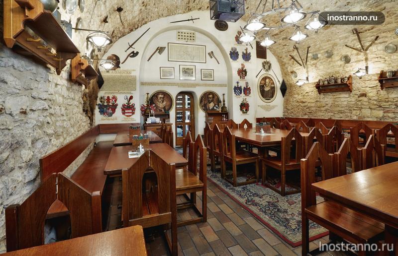 ресторан u konvice прага