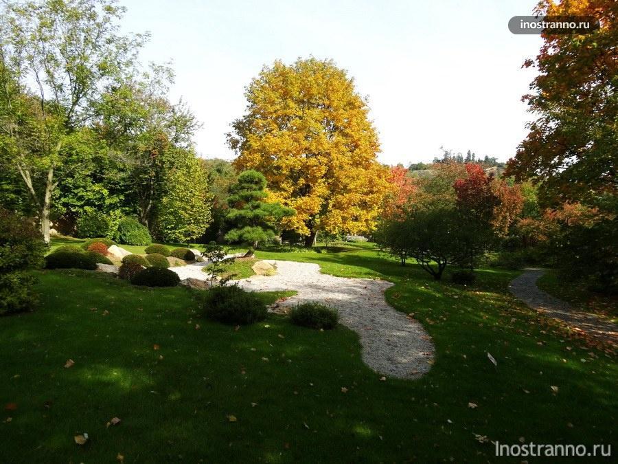 Ботанический сад - Прага