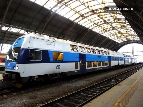 Чешский поезд