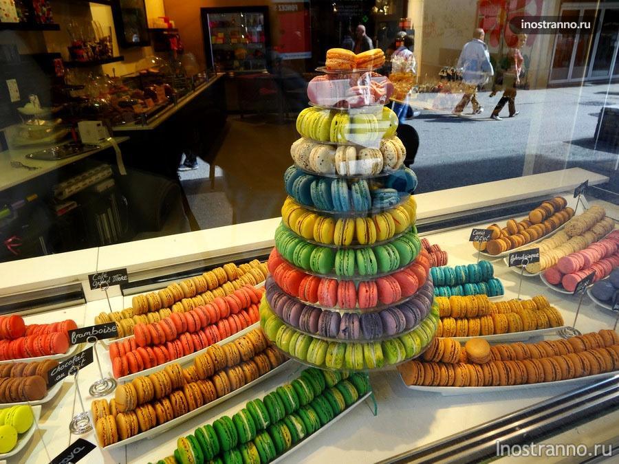 макарон - французский десерт
