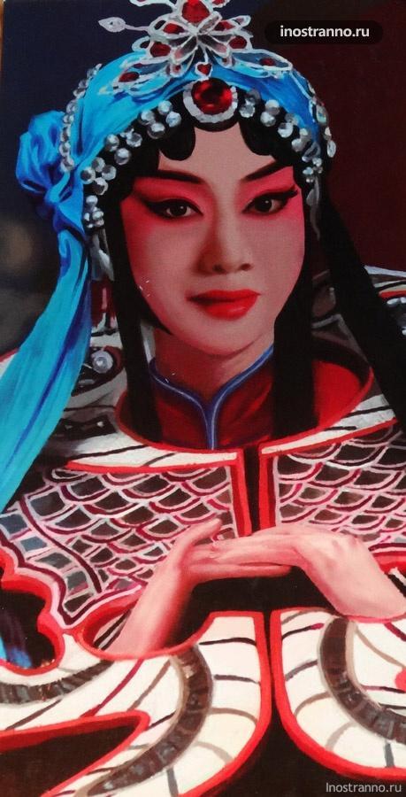 открытка из китая