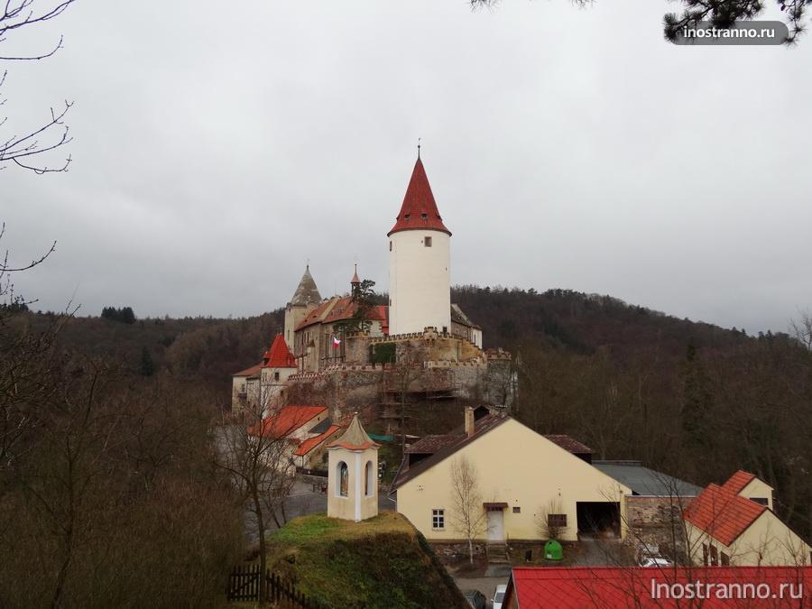 замок Крживоклат из фильма Хроники Нарнии