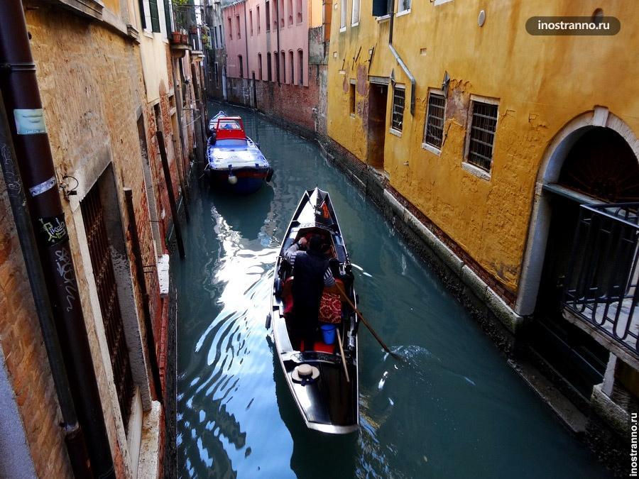 гондольер венеция