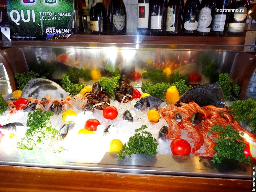 рыба в венеции