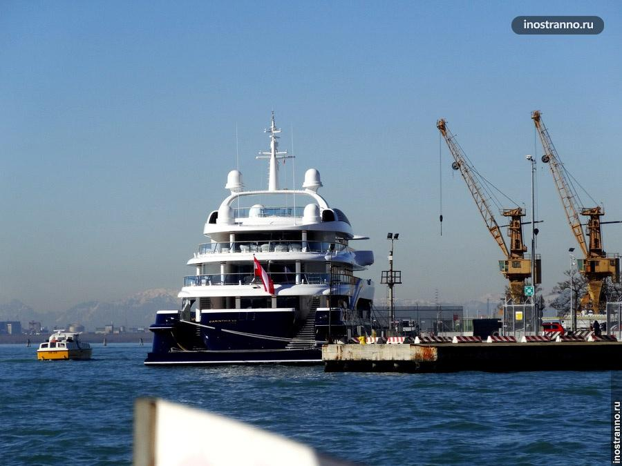 круизный лайнер венеция