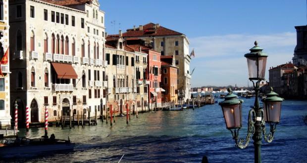 Дождь и солнце в Венеции
