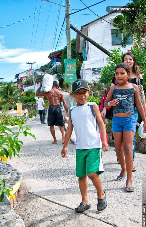 остров табога панама