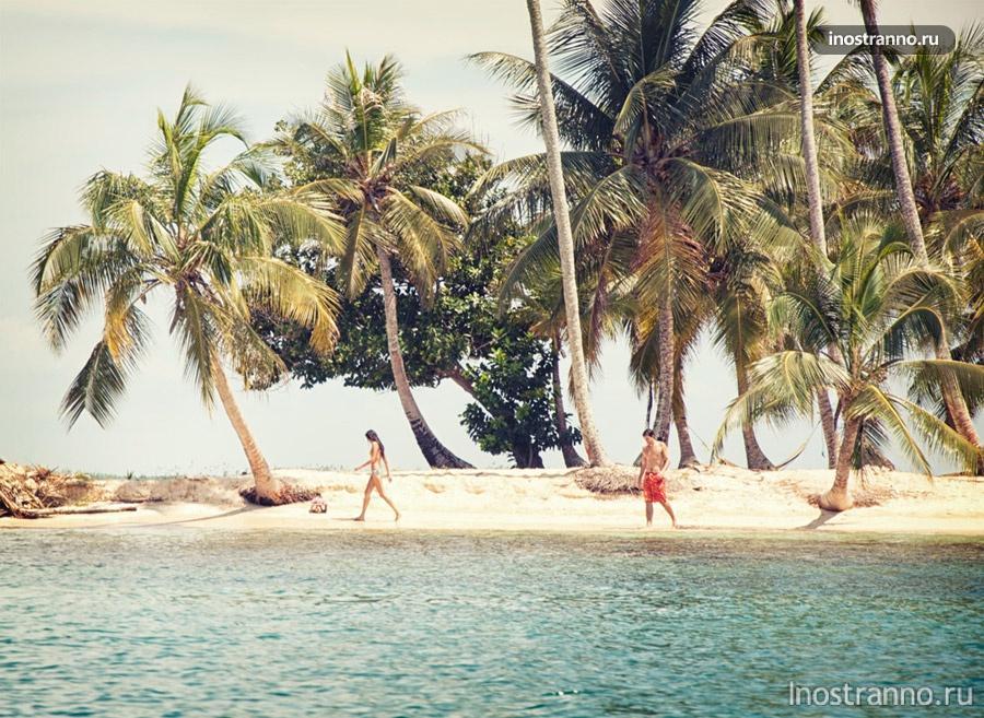острова сан блас панама