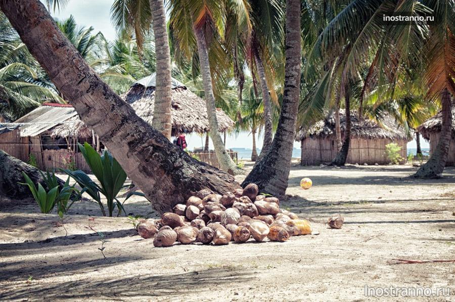 остров сан блас панама