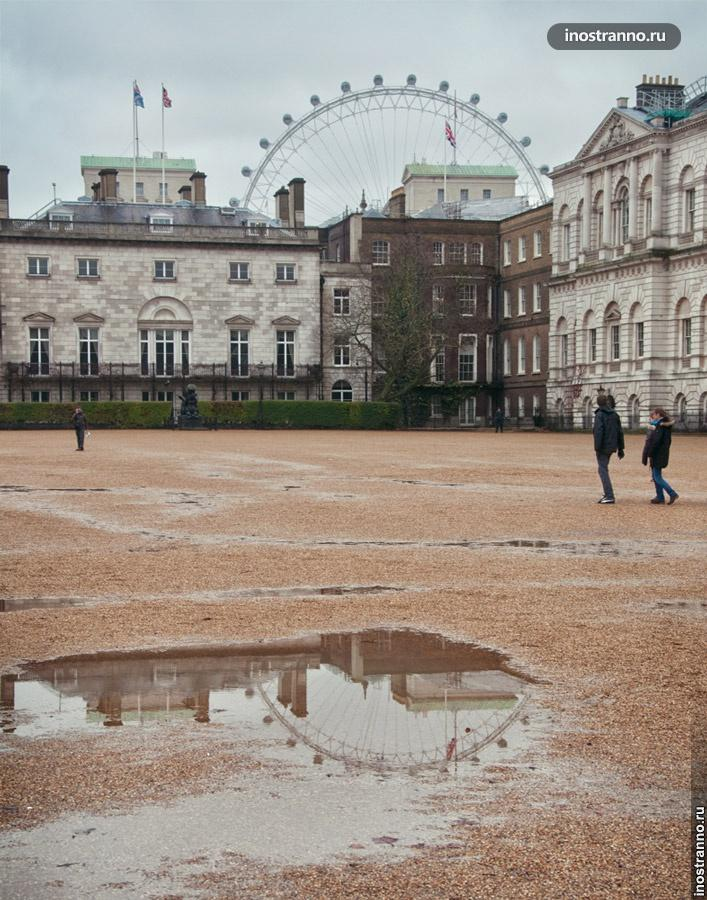 вид london eye