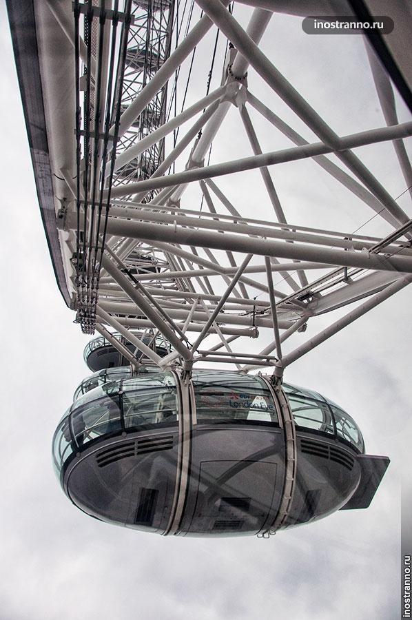кабина London Eye