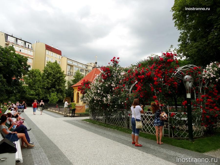 Франтишканский сад в Праге