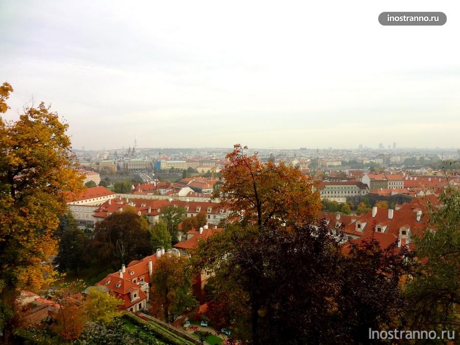 Дворцовые сады под Пражским Градом
