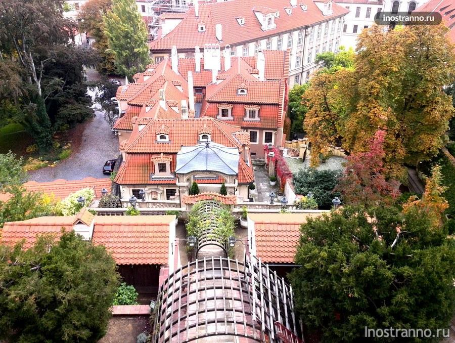 Дворцовые сады в Праге
