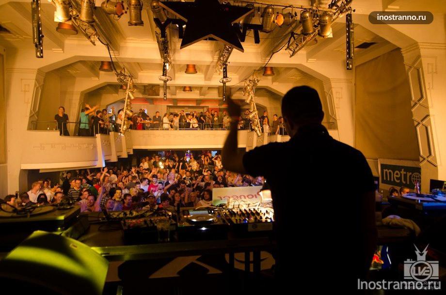 Клуб Roxy в Праге
