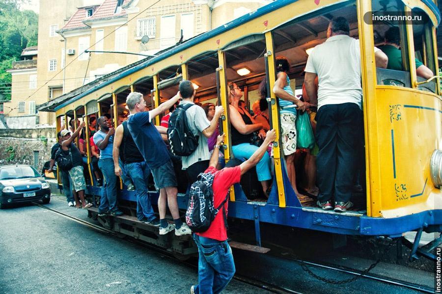 трамвай рио-де-жанейро
